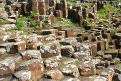 olbrzym grobli Irlandii północnej Zdjęcie Stock