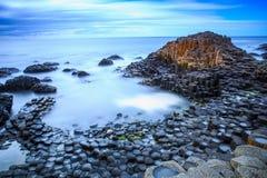 olbrzym grobli Irlandii północnej Zdjęcia Stock