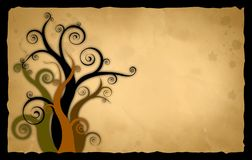 Old. Vector illustration old  paper background Royalty Free Stock Image