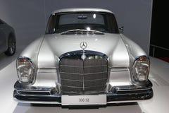 Old 300 SE Mercedes car Stock Images
