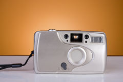 Old 35 mm camera Royalty Free Stock Photo