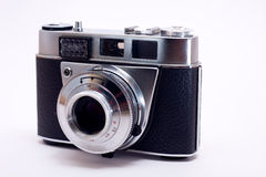 Old 35mm film camera Stock Image