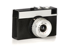 Old 35mm film photo camera Royalty Free Stock Images