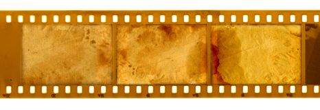 Old 35mm frame photo Royalty Free Stock Images