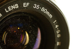 Old 35mm Lens Stock Image