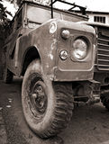 Old 4WD Vehicle Royalty Free Stock Photography