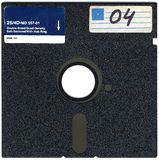 Old 5 25 Inch Disk Royalty Free Stock Photography