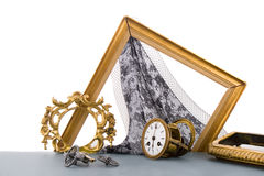 Old. Still life from antiq objects Stock Photography