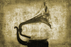 Old 78rpm gramophone Royalty Free Stock Photography