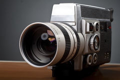 Old 8mm camera Stock Photography