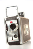Old 8mm movie camera Royalty Free Stock Photography