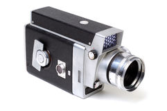 Old 8mm Movie Camera 2 Stock Photo