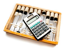 Old abacus Stock Image