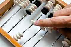 Old abacus Stock Images