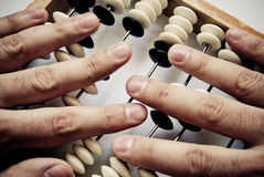 Old abacus Royalty Free Stock Photos