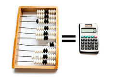 Old abacus Stock Photography