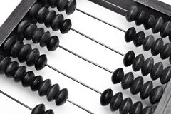 Old abacus, close up Royalty Free Stock Photo