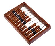 Old abacus (retro). Stock Photo