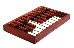 Old abacus (retro). Royalty Free Stock Image