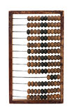 Old abacus on a white background Royalty Free Stock Images
