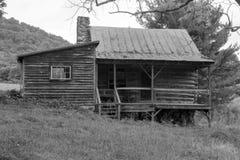 Old Abandon Log Cabin Stock Image