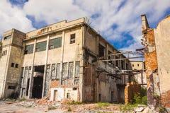 Kalety, Silesia province, Poland - Old paper mill. Stock Photo