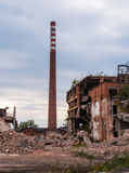 Old abandon paperworks in Kalety - Poland, Silesia province Stock Images