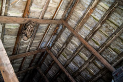 Old abandoned attic countryside Royalty Free Stock Images