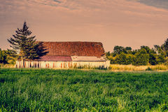 Old abandoned barn Royalty Free Stock Images