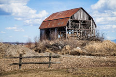 Old Abandoned Barn Stock Images