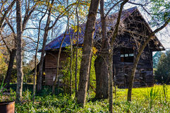 Old Abandoned Barn Royalty Free Stock Photos