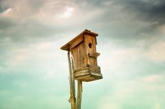 Old abandoned birdhouse Royalty Free Stock Photo