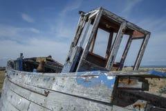 Old Abandoned Boat Stock Image