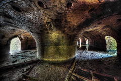 Old abandoned brickyard. Lost Places stock images