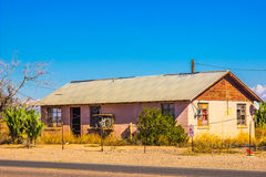 Old Abandoned Building in Arizona Desert Royalty Free Stock Images