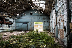 Old abandoned building stock images