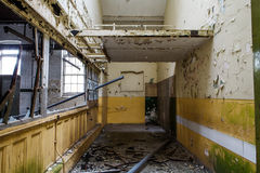 Old abandoned building royalty free stock photography