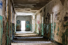 Old abandoned building interior Stock Image