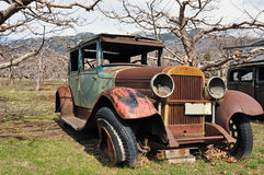Old abandoned car Royalty Free Stock Images