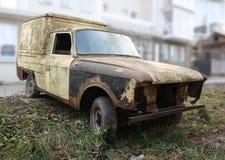 Old Abandoned car Royalty Free Stock Photo