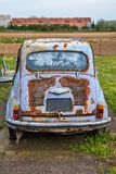 Old abandoned car Fiat Zastava 750.  royalty free stock images