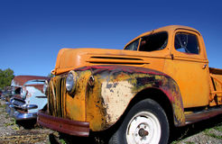 Old abandoned cars Royalty Free Stock Image