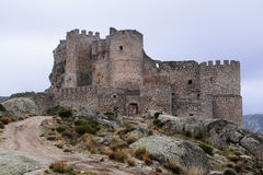 Old abandoned castle in Avila. Royalty Free Stock Photos