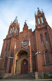 Old abandoned Catholic church in Smolensk Royalty Free Stock Image