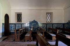 Old and abandoned chapels. Old and abandoned historic chapels Stock Photos