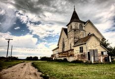 Old Abandoned Church Royalty Free Stock Photo