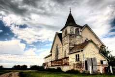 Old Abandoned Church Royalty Free Stock Photography