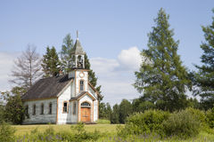 Old abandoned church. In northern Ontario, Canada Royalty Free Stock Images