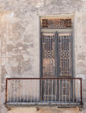 Old abandoned closed Door Stock Image