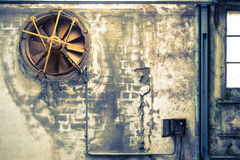 Old and abandoned concrete buildings Royalty Free Stock Photography